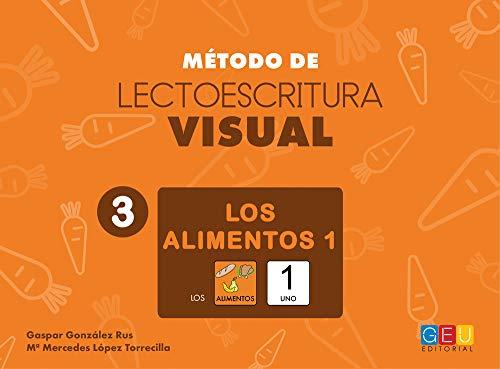Método de Lectoescritura visual 3 - Los alimentos 1