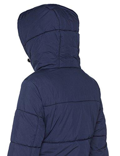 Brandit Damen Mantel Sina Long Blau (Blue 8)