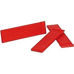 Zefal Z Levers - Blister 3 desmontables de cubierta, color rojo
