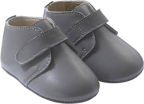 cc9ffea630e7b Tichoups Chaussures bébé cuir souple Malou grise