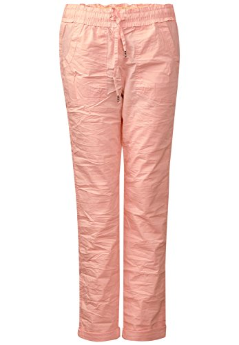 Street One Damen Crashed Joggpants Leona lucky peach (orange)
