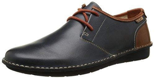 Pikolinos - Santiago M7b, Zapatos de cordones derby Hombre, Azul (Navy Blue),...