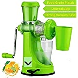 Online Choice Manual Fruits & Vegetable Juicer With Steel Handle (Green) - 240C