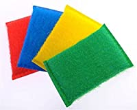 Jeval Sponges Scouring Pads cleaning cloth Microfiber magic sponge eraser kitchen toilet Household tools (4pcs/set)