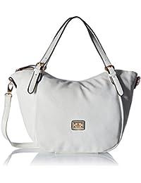 Gussaci Italy Women's Handbag (White) (GUS009)