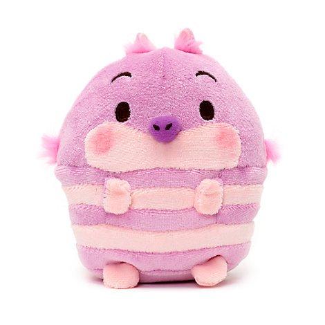 Disney Gato Cheshire Peluche Pequeño Ufufy con Aroma 11cm - Alicia en el País de Las Maravillas