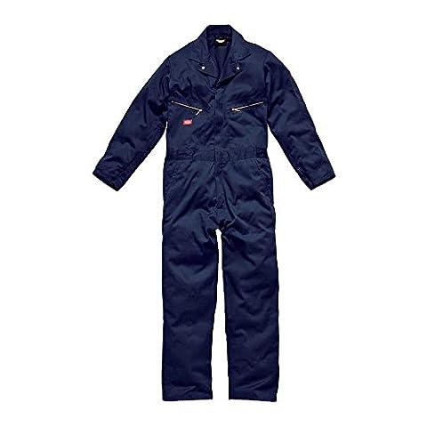 Dickies Mens Deluxe Work Coverall / Overalls Boilersuit Navy
