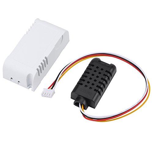 Akozon LED Display Digit Sensor de Temperatura y Humedad para Arduino y Raspber Módulo RS485 RTU
