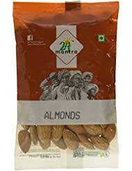 24 Mantra Organic Almonds, 100g