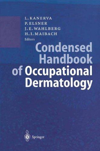 Condensed Handbook of Occupational Dermatology by Lasse Kanerva (2003-11-19)