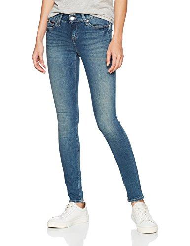 Tommy_Jeans Damen Jeans Mid Rise Skinny Nora Rbst, Blau (Royal Blue Stretch 911), W29/L32 (Herstellergröße: 3229) (Jeans Mid-rise)