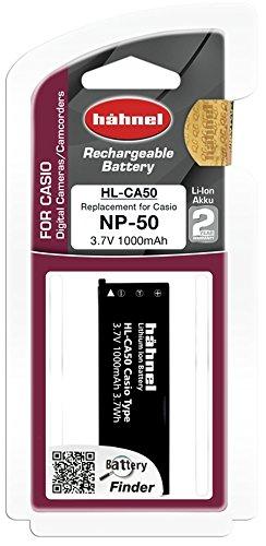 Hähnel HL CA50 3,7V 1000mA Ersatzakku Typ Casio NP-50 f. EX-V7 -