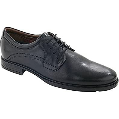 Mens Hush Puppies Michigan Black Lace up Shoes Size 12
