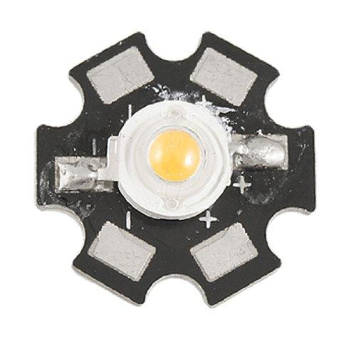 1w-590-592nm-caldo-bianco-faro-led-lampada-ada-perlina-emittente-90-100lm-con-stella-base