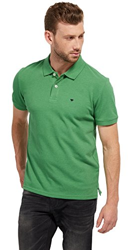 tom-tailor-fur-manner-polo-schlichtes-polo-shirt-obvious-green-m