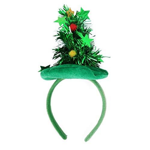 ead Boppers, Weihnachtsbaum Stirnband Performance Requisiten Hochzeit Event Party, Weihnachten Stirnbänder ()