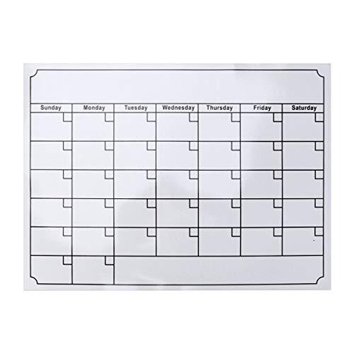 STOBOK Frigorífico Organizador Calendario magnético
