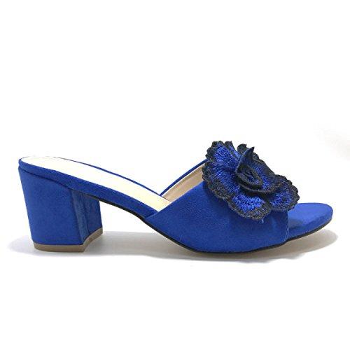 Signora Sandali Ciabatte Sandali Blue