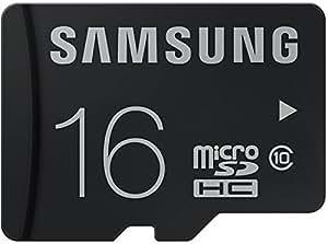 Samsung 16 GB MicroSDHC Class 10 24 MB/s Memory Card