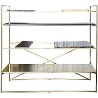Comparador de precios Casa-Padrino Mueble de Sala de Estar de Lujo Dorado 110 x 45 x H. 100,5 cm - Armario de diseño - precios baratos