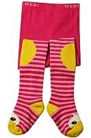 Weri Spezials ABS Krabbelstrumpfhosen mit der Ente in Pink
