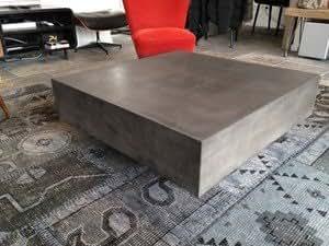 Table beton Cube