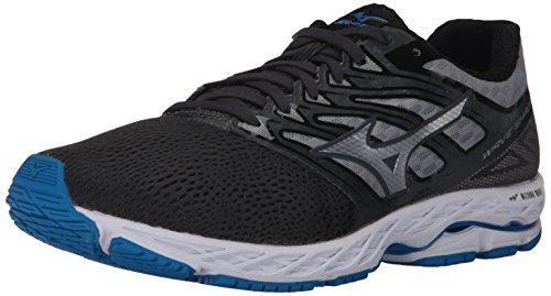 Mizuno Herren Men's Shadow Running Shoes, Wave Paradox 4, Laufschuhe, Eisentor, Silber/Blauer Schmuckstein, 42 EU