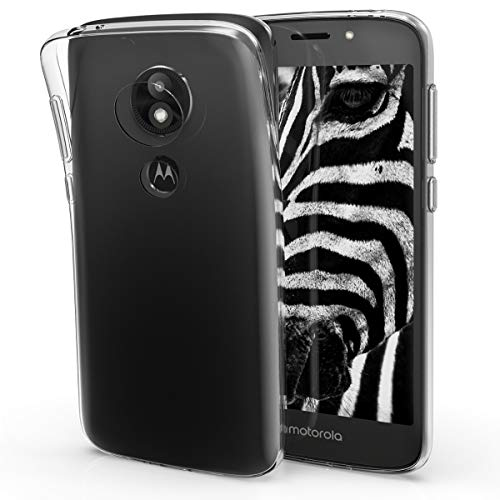 kwmobile Motorola Moto E5 Play (US-Version) Hülle - Handyhülle für Motorola Moto E5 Play (US-Version) - Handy Case in Transparent