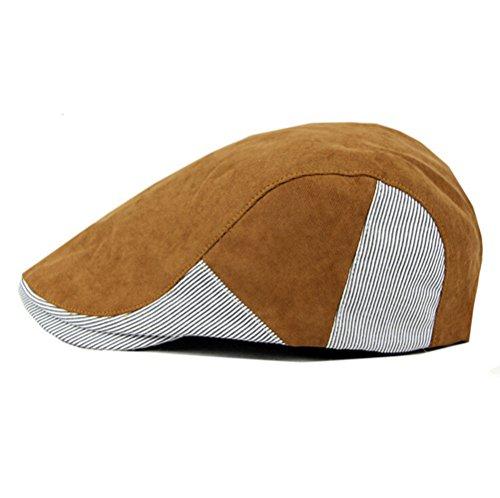 Nanxson(TM) Béret/Casquette/Chapeau En Coton Style De Loisir Mode Pour Homme MZM0028 Café