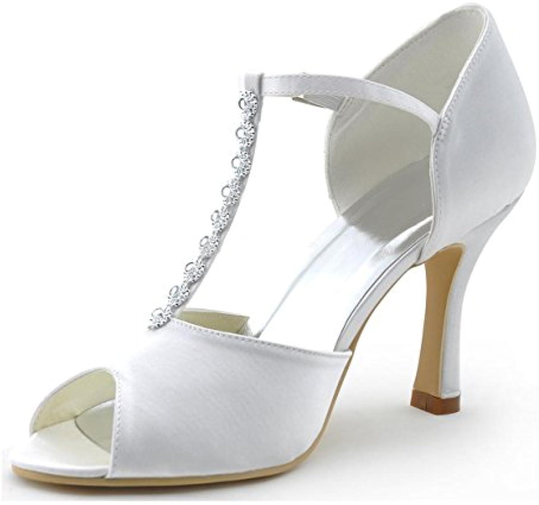 la minitoo mesdames des sandales les chaussures chaussures chaussures pour une occasion spéciale de satin ivoire royaume uni 7 b07bbpvl62 parent | De Qualité  95b7d3