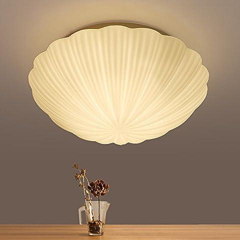YUPD@Lampada da soffitto Plafoniere Lampada da soffitto a LED shell (28cm) , warm (Acquario Light Fixtures)