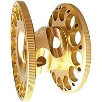 SGerste Ultraleichte Aluminium-Legierung Finger Spule Halter Spule für Unterwassertauchen Tauchen Schnorcheln Gold