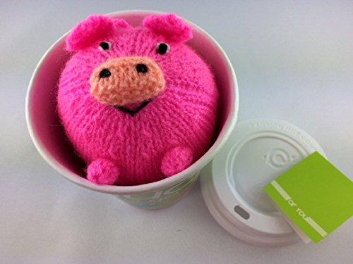 """Preisvergleich Produktbild Glücksschwein in einem """"Glück to go"""" Becher"""
