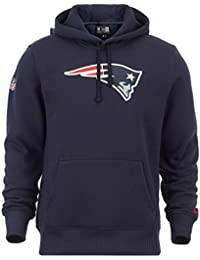 New era nFL new england patriots sweat-shirt à capuche bleu marine