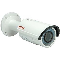 ROLINE RBOV2-1 2 MP IP Bullet Kamera, 2.8 - 12mm Varioobjektiv, IR LED bis 30m, PoE, Außenbereich