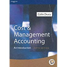 Cost and Management Accounting: An Introduction