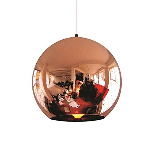 Anzünden Pendelleuchten Ball Dekoration Hänge Lampe Licht Licht Bronze Leuchten schmücken Wohnzimmertisch Living Zimmer Küche Restaurant Kupfer 30cm (keine Glühbirne) - Ball Dekoration