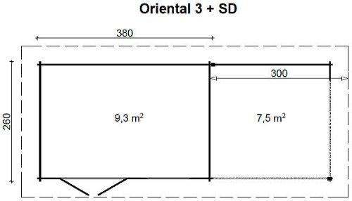 gartenhaus-oriental-iii-28-sd300-mit-schleppdach-380x260300cm-28mm-blockhaus-2