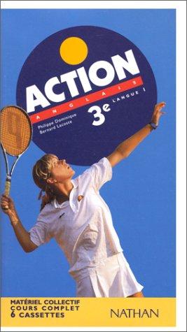 Action : Anglais 3e LV1 - Pour la classe (coffret 6 cassettes)