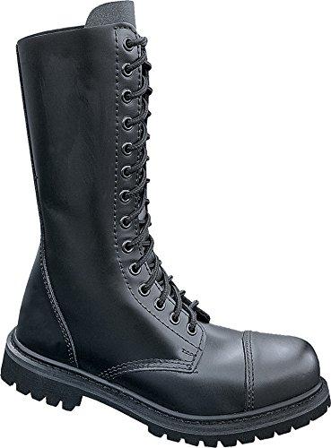 Brandit Mens Phantom Boots 14 Eye, Farbe:schwarz;Größe:39