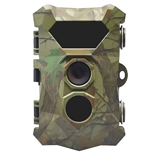 ZNHL Trail Camera 12MP 1080P HD Wildlife Camera,waterproof 120° Wide Angle IR LEDs Night Version for Wildlife Monitoring & Home Security&Hunting