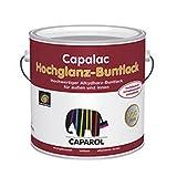 Caparol Capalac Hochglanz Buntlack 2,5 Liter Weiß