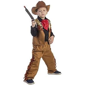 Dress up America Salvaje Occidental del Vaquero de Vestuario (4 - 6 años)