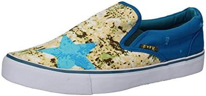 F**K PROJECT SLIP ON Mocasines hombre Azul Textil AH955