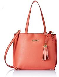 Caprese Nicole Women's Tote Bag (Soft Coral)