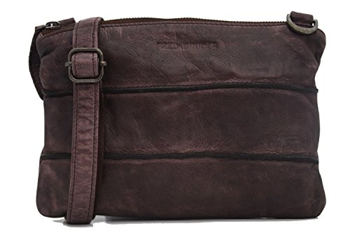 FREDsBRUDER Waxed Leather View sac à main bandoulière cuir 25 cm ef7709c1346eb