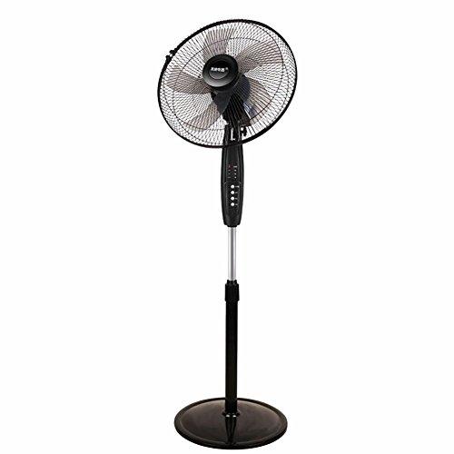 WOAINI Floor Fan Desk Elektrischer Ventilator Elektrisch Oszillierend kann schwarz gedreht Werden -