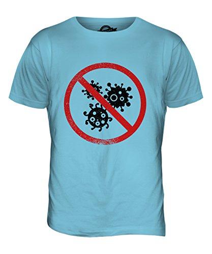 CandyMix Mysophobie Herren T Shirt Himmelblau