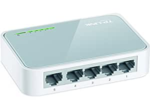 TP-Link TL-SF1005D Netzwerk Switch 5x 10/100MBit/s RJ45 ports [Amazon frustfreie Verpackung]