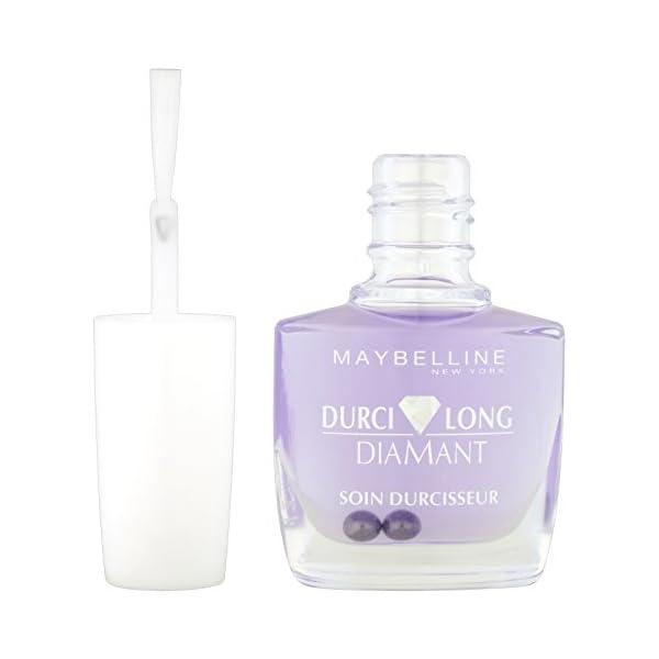 Maybelline Durcilong 3 in 1 endurecedor de uñas Mujeres – Endurecedores de uñas (Mujeres, Botella, 21 mm, 56 mm, 115 mm…
